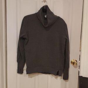 Alo yoga gray cowl neck hoodie